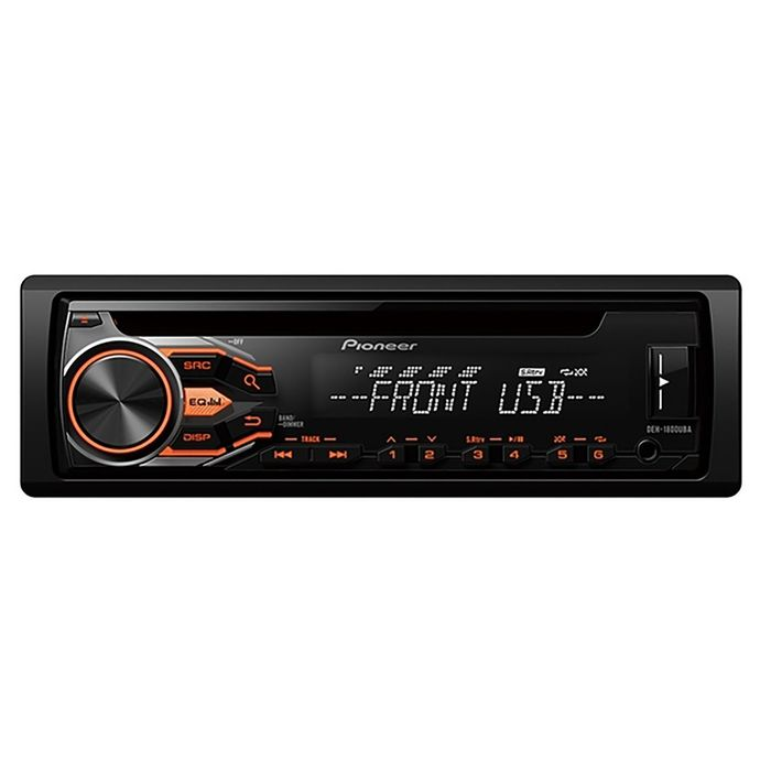 Автомагнитола CD Pioneer DEH-1800UBA 1DIN 4x50Вт
