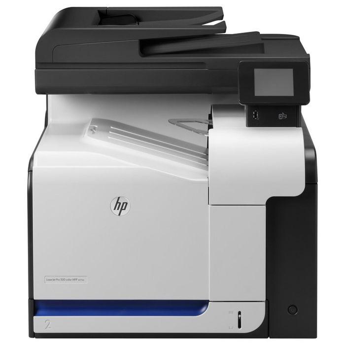 МФУ, лазерная цветная печать HP Color LaserJet Pro 500 M570dn (CZ271A), А4, Duplex