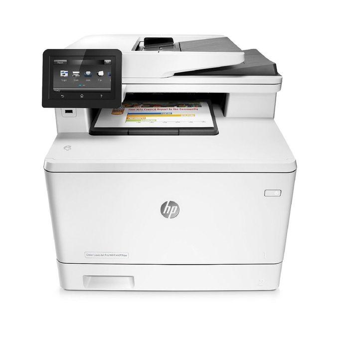 МФУ, лазерная цветная печать HP Color LaserJet Pro M477fdw (CF379A), А4, Duplex, LAN, WiFi