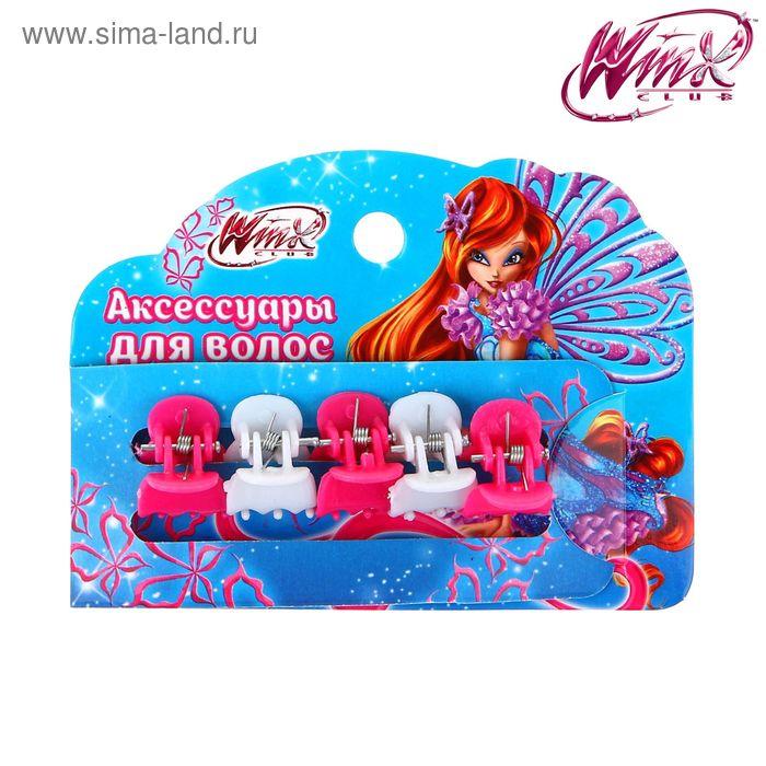 Краб для волос (набор 5 шт) феи Винкс