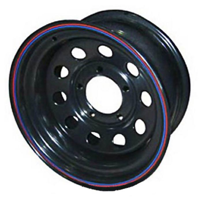 Диск штампованный Ningbo А08 8x16 6x139,7 ЕТ40 d110,1 чёрный (с колпаком)