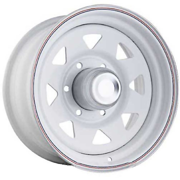 Диск штампованный Ningbo А17 8x16 6x139,7 ЕТ -40 d110,1 белый (с колпаком)