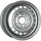 Диск TREBL 53A43C 5,5x14 4x100 ЕТ43 d60,1 серебро (Рено)
