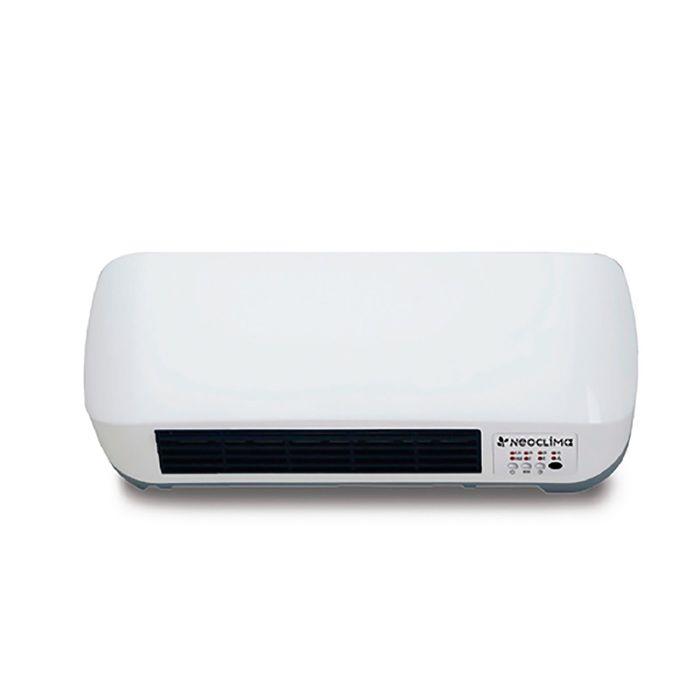 Тепловентилятор Neoclima LITEN 9016, 2000 Вт, защита от перегрева, белый