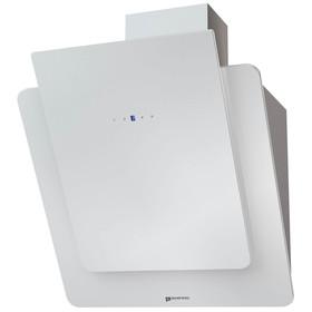 Вытяжка Shindo Prime sensor 60 W/WG 3ET, наклонная, 800 м3/ч, 3 скорости, сенсор, белая