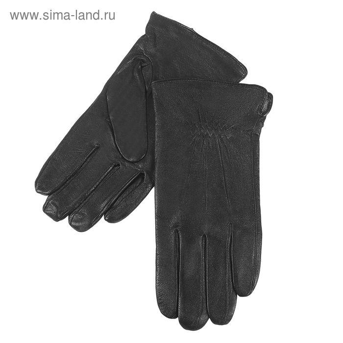 Перчатки мужские, размер 10,5, чёрные