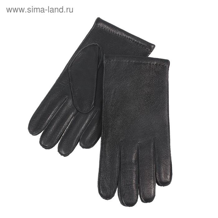 Перчатки мужские, размер 9, чёрные