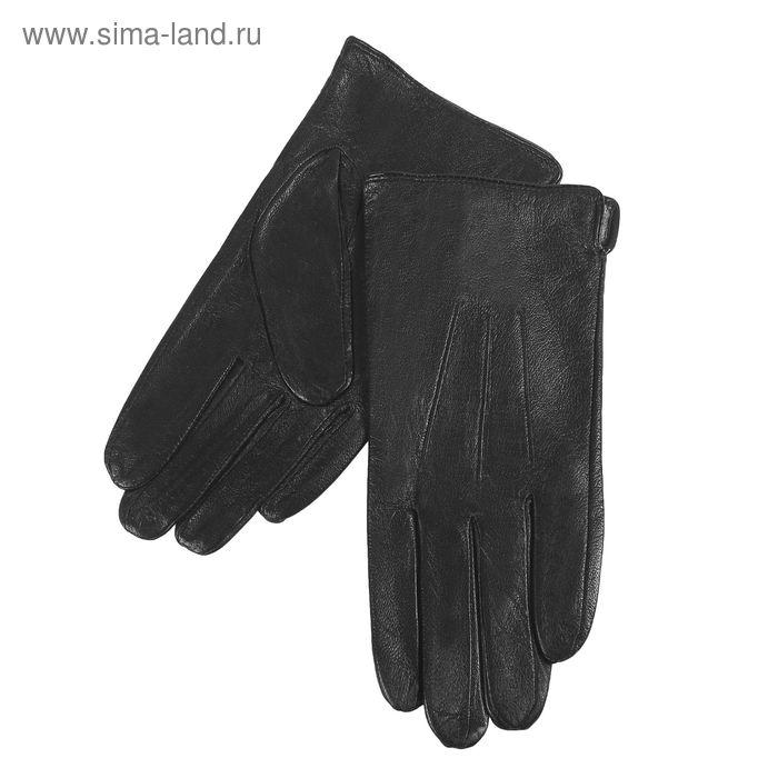 Перчатки мужские, размер 10, чёрные