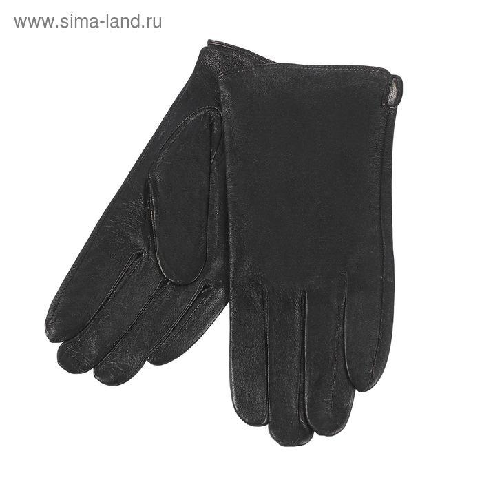 Перчатки мужские, размер 12, чёрные