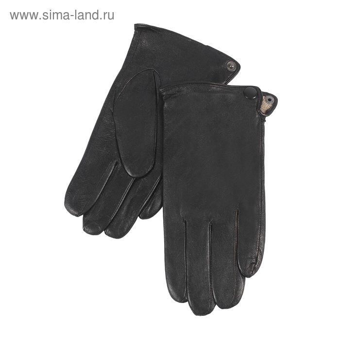 Перчатки мужские, размер 11, чёрные