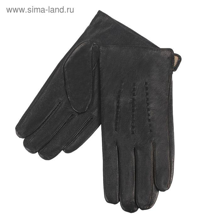 Перчатки мужские, размер 12,5, чёрные
