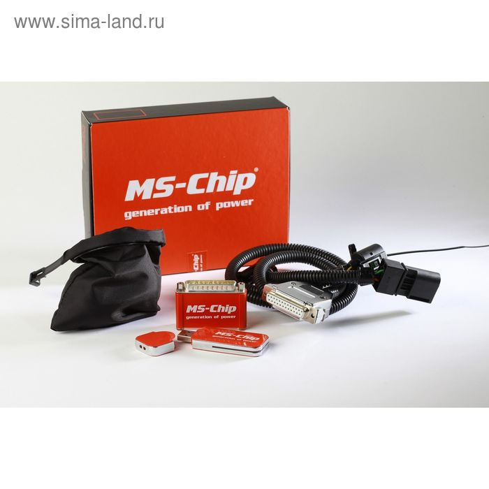 MS-Chip Chevrolet Trailblazer 2.8 TD 180 л с CRSBM