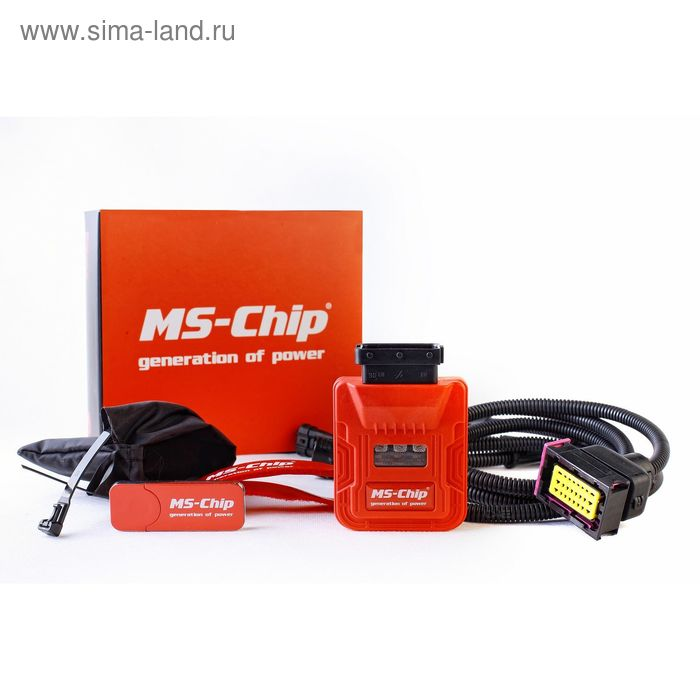 MS-Chip Sport Mercedes GL400 3.0 Turbo 333 л с MAP3DB-2H