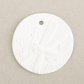 Шильдик 'Стрекоза' белая, 5 см Ош
