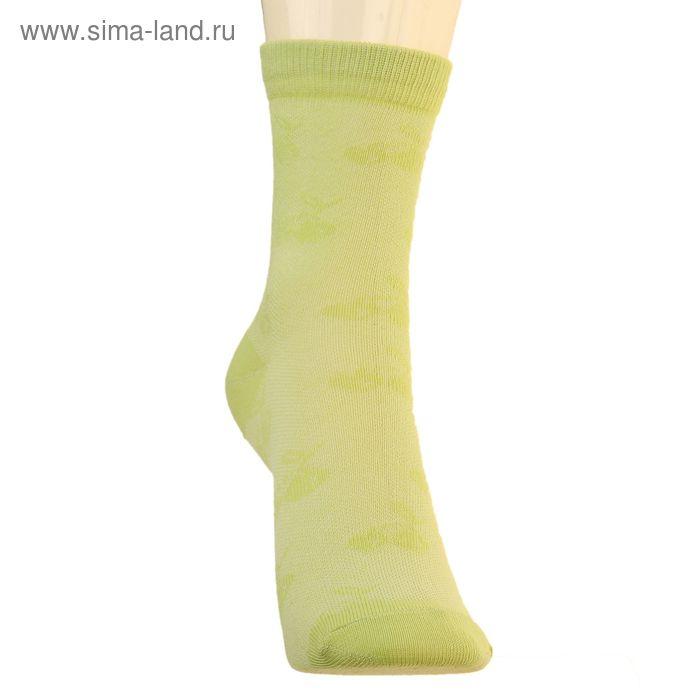 Носки детские 3с17, размер  18(16-18), цвет салатовый