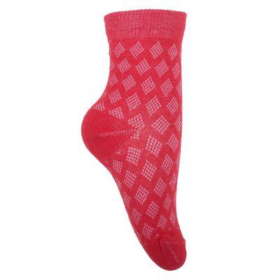 Носки детские, размер 18(16-18), цвет красный