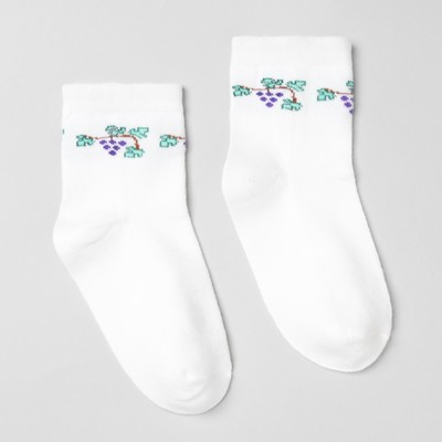 Носки детские, размер 16(14-16), цвет белый