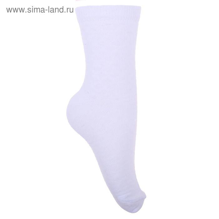 Носки детские 3с17, размер  22(20-22), цвет белый