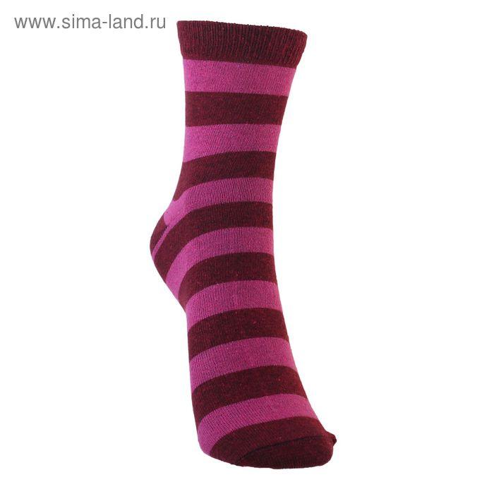 Носки детские 3с13, размер  22(20-22), цвет бордовый/малина