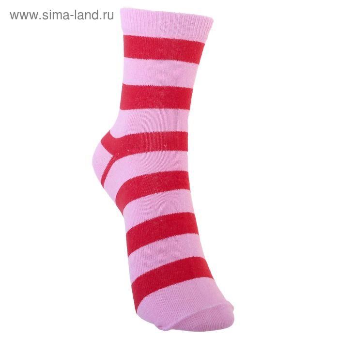 Носки детские 3с13, размер  22(20-22), цвет розовый/малиновый