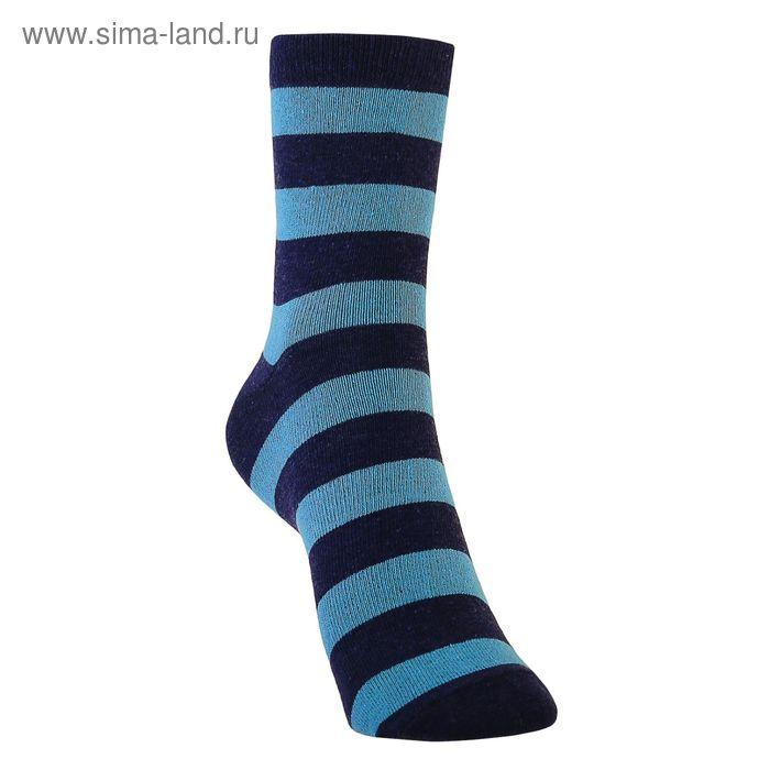 Носки детские 3с13, размер  16(14-16), цвет черный/синий