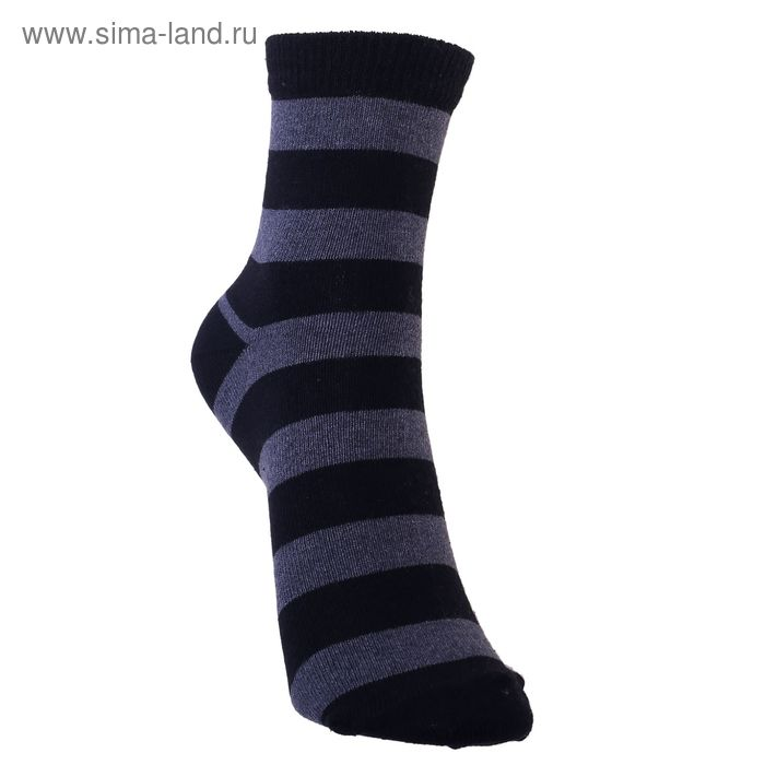 Носки детские 3с13, размер  16(14-16), цвет черный/тем.серый
