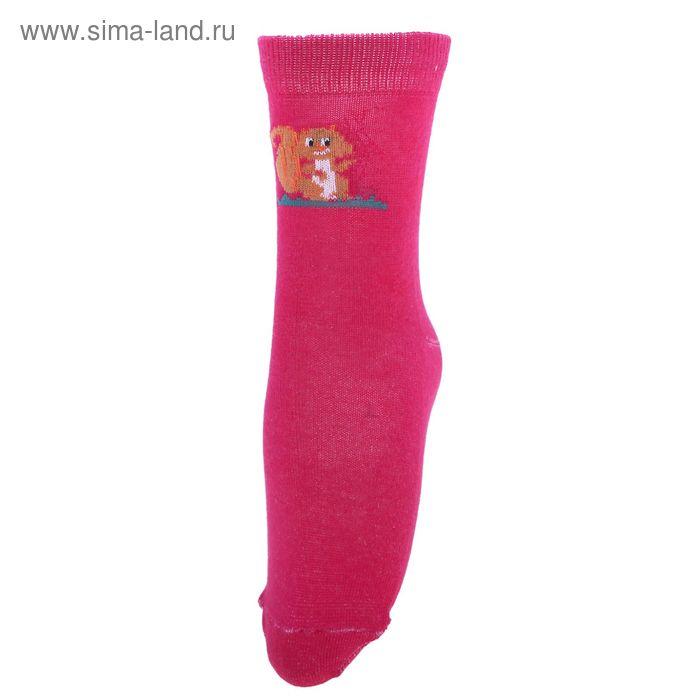 Носки детские 3с14, размер  20(18-20), цвет малиновый