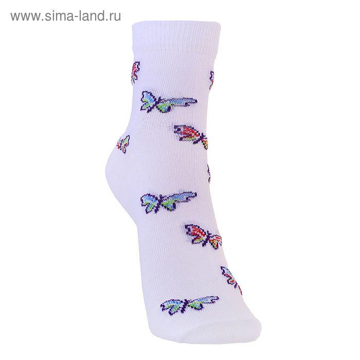 Носки детские 3с12, размер  22(20-22), цвет белый