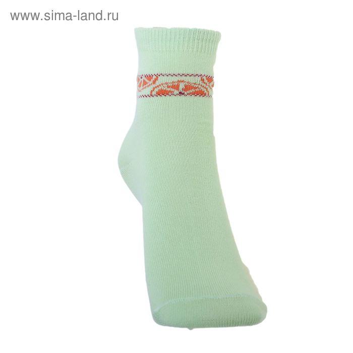 Носки детские 3с14, размер  16(14-16), цвет салатовый