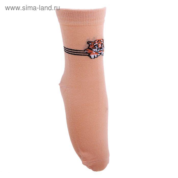 Носки детские 3с14, размер  16(14-16), цвет песочный