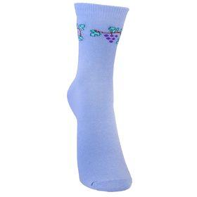 Носки детские, размер 22(20-22), цвет голубой Ош