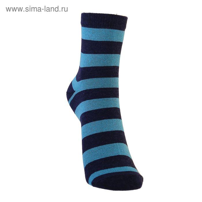 Носки детские 3с13, размер  20(18-20), цвет серый/бирюзовый