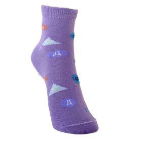 Носки детские, размер 18(16-18), цвет сиреневый Ош