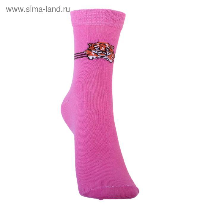 Носки детские 3с14, размер  18(16-18), цвет малиновый