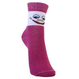 Носки детские, размер 18(16-18), цвет бордовый Ош