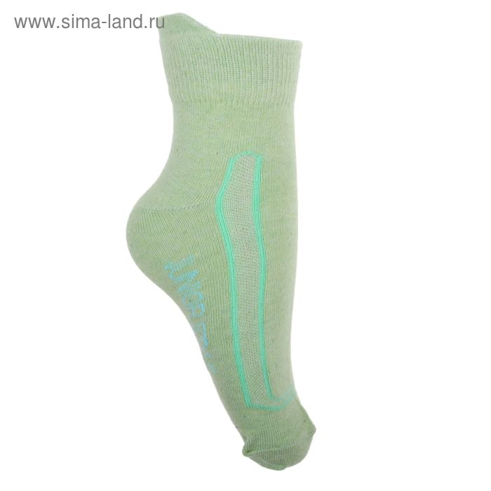 Носки детские 3с42, размер  22(20-22), цвет зеленый