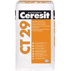 Штукатурка и ремонтная шпатлёвка для минеральных оснований Ceresit СТ 29, 25 кг
