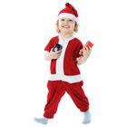 """Карнавальный костюм """"Дед Мороз в колпаке"""", велюр, рост 98 см, цвета МИКС"""