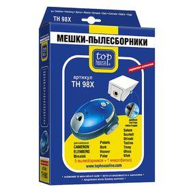 Двухслойные мешки-пылесборники Top House TH 98Х, 5 шт. + 1 микрофильтр