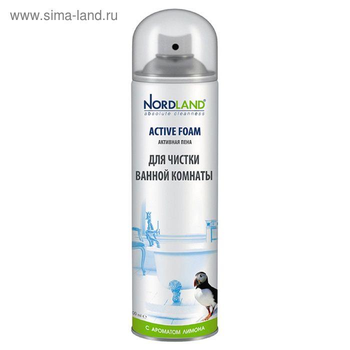 Пена для чистки ванной комнаты  Nordland с ароматом лимона, 600 мл