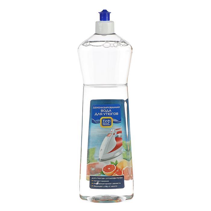 Деионизированная вода для утюгов с отпаривателем Top House с ароматом грейпфрута, 1 л