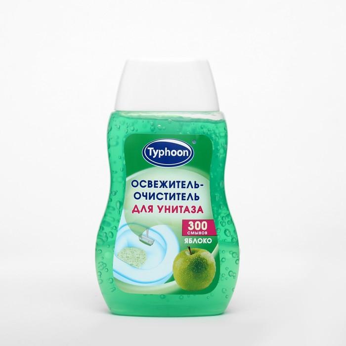 """Освежитель-очиститель для унитаза """"Тайфун"""", аромат яблоко, 200 мл"""