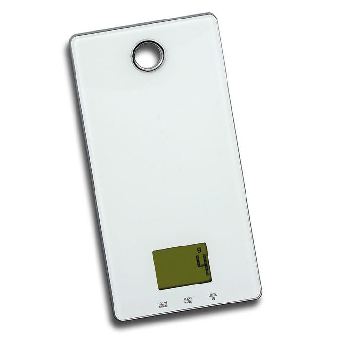 Весы кухонные Zigmund and Shtain DS-15 TW, электронные, до 5 кг, белый