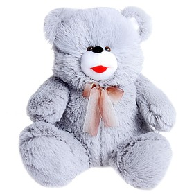 Мягкая игрушка «Медведь с бантом», цвета МИКС