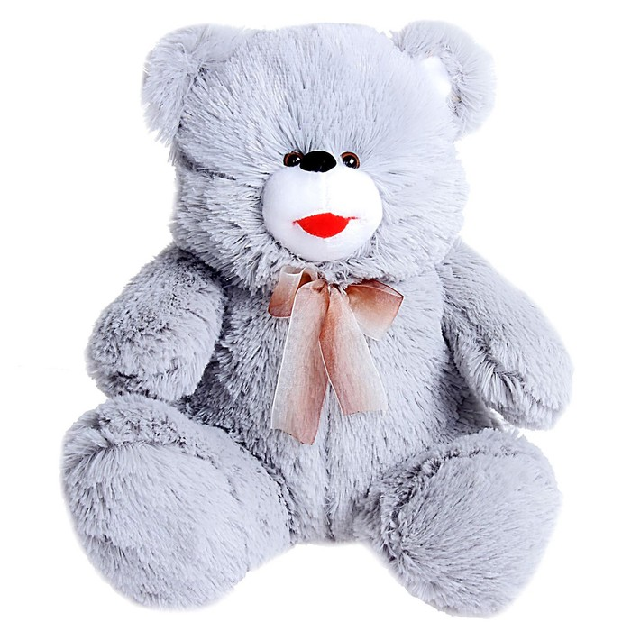 Мягкая игрушка «Медведь с бантом», цвета МИКС - фото 4469098