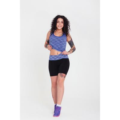 Спортивные шорты ONLITOP Fitness time, размер 42-44, цвет синий
