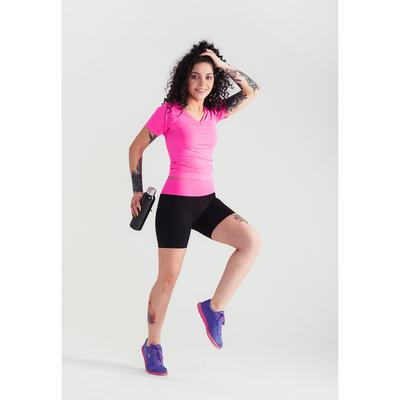 Спортивные шорты ONLITOP Balance, размер 46-48, цвет розовый