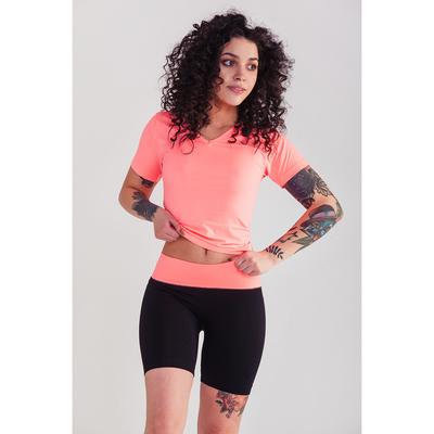 Спортивные шорты ONLITOP Balance, размер 46-48, цвет коралловый