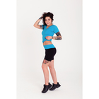 Спортивные шорты ONLITOP Balance, размер 42-44, цвет голубой