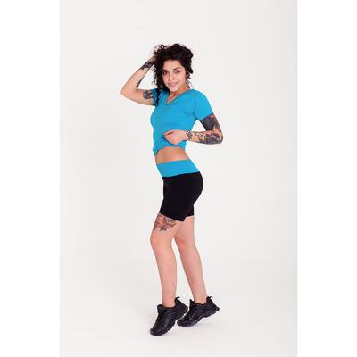 Спортивные шорты ONLITOP Balance, размер 46-48, цвет голубой
